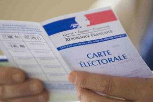 perte ou un vol de votre carte électorale