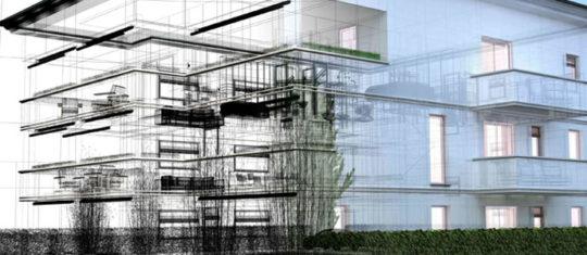 scan 3d bâtiment
