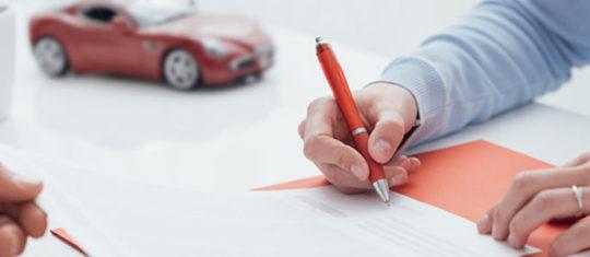 Contrat d'assurance voiture